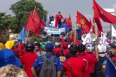 Buruh Minta UMSK Sumedang Rp3,4 Juta untuk Beli Sembako