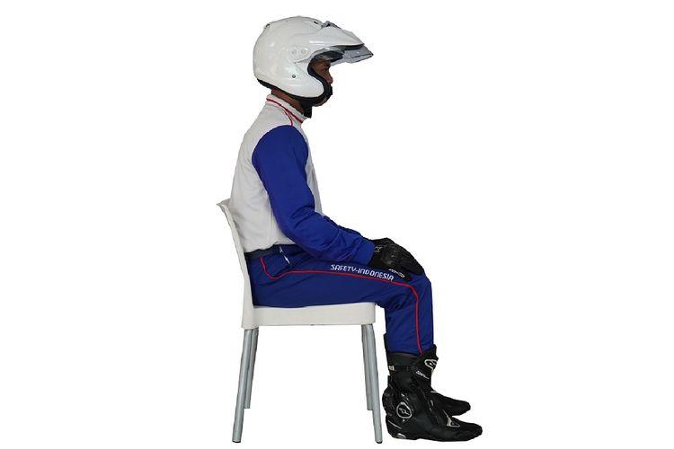Posisi duduk ride on position Honda PCX 160