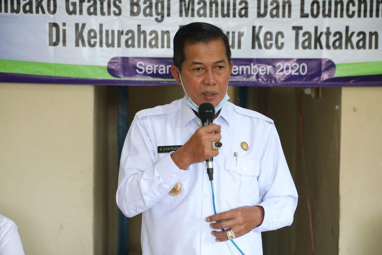 Wali Kota Serang Syafrudin memutuskan menunda belajar tatap muka setelah adanya instruksi dari Gubernur Banten
