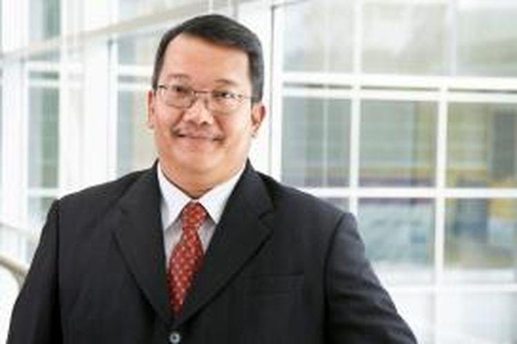 Wakil Rektor IV Bidang Kerjasama dan Pengembangan Institusi Universitas Bina Nusantara (UBINUS) Dr Boto Simatupang.