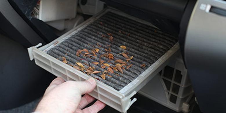 Ilustrasi Filter kabin kotor