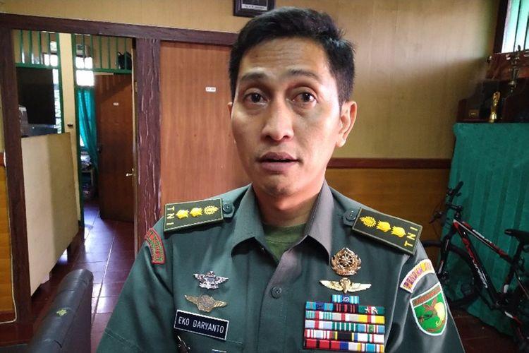 Kapendam XVII/Cenderawasih Letkol CPL Eko Daryanto(KOMPAS.COM/DHIAS SUWANDI)