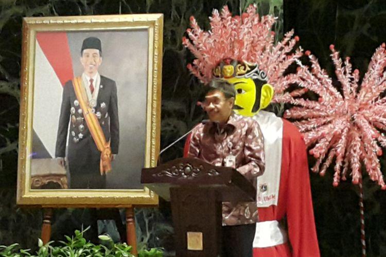 Gubernur DKI Jakarta Djarot Saiful Hidayat di Balai Kota DKI Jakarta, Jalan Medan Merdeka Selatan, Kamis (5/10/2017).