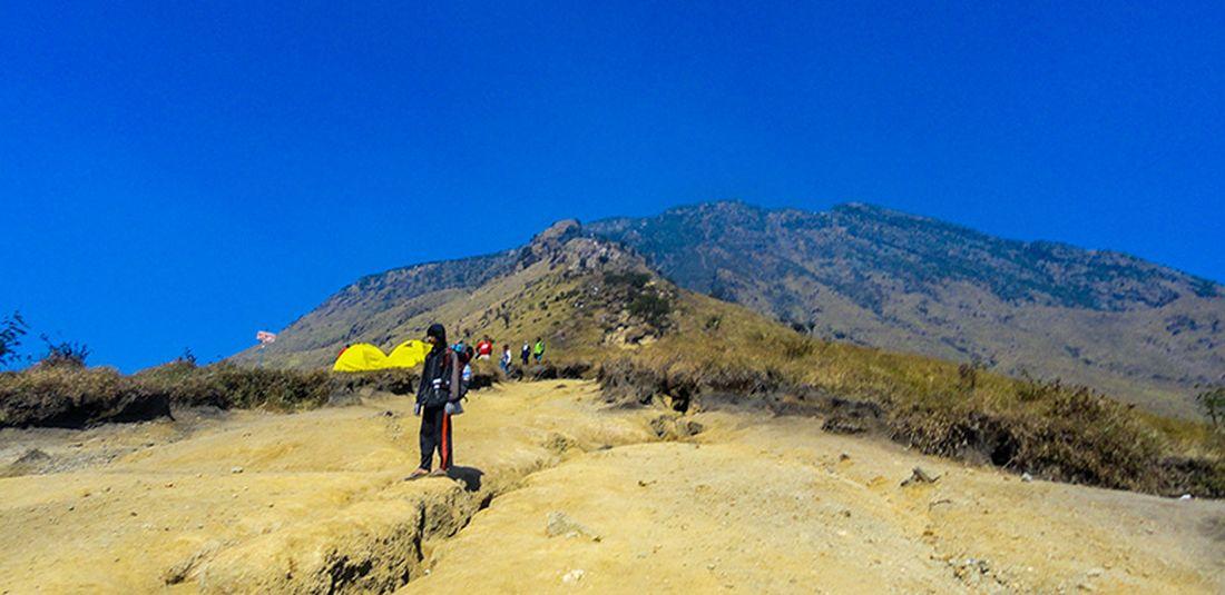 Pos III Pestan Gunung Sumbing via Garung.