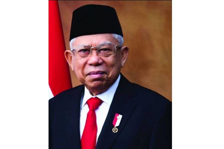 Wakil Presiden RI 2019-2024 KH Maruf Amin