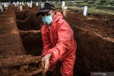 Bulan Depan Makam Covid-19 di TPU Pondok Ranggon Diperkirakan Penuh