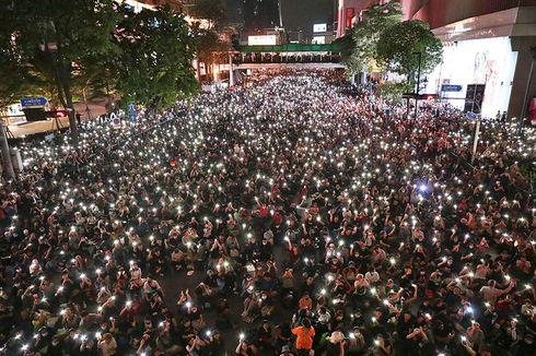 Abaikan Aturan Berkumpul, Ribuan Demonstran Thailand Masih Penuhi Jalan
