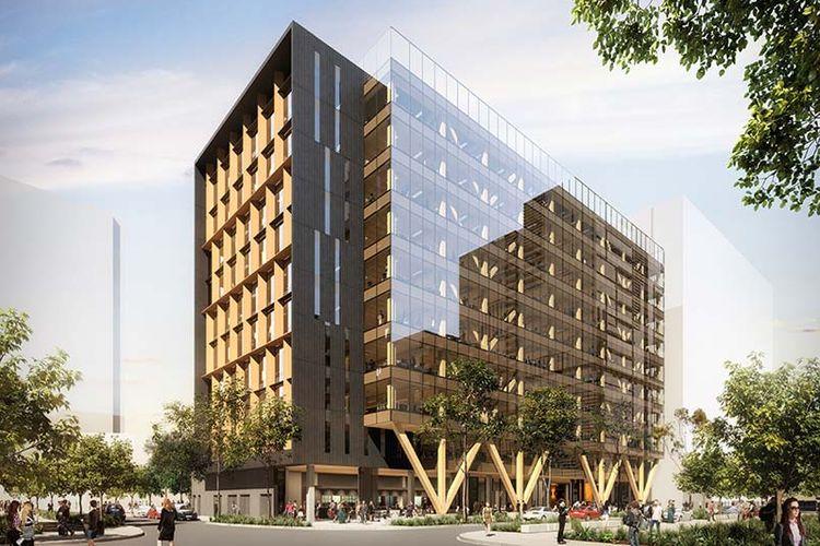 Bangunan yang dinamai 25 King ini dirancang oleh Aurecon. Gedung perkantoran ini rencananya mampu menampung hingga 600 orang.