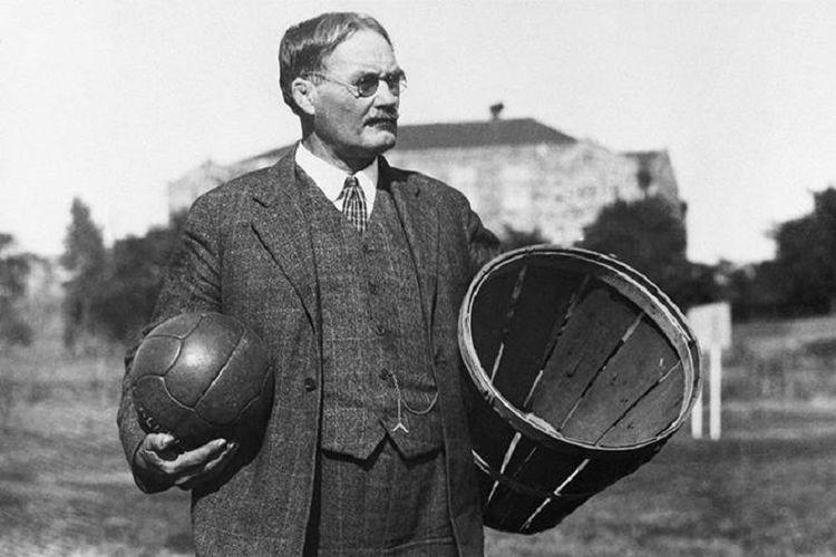 James Naismith, Bapak Olahraga Bola Basket
