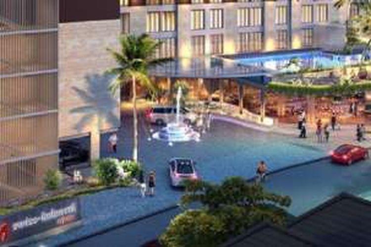 Binakarya Group melansir Swiss-belhotel Arjuna Double Six, Seminyak, sebagai hotel bintang empat. Akan ada 300 kamar.