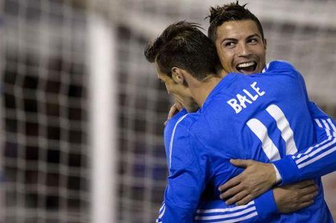 Gareth Bale Puji Cristiano Ronaldo