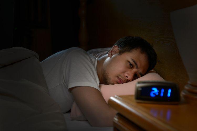 Ilustrasi sulit tidur