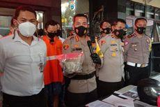 Gagal Balap Liar, 2 Pemuda Tabrak dan Lempari Mobil Patroli Polisi dengan Batako