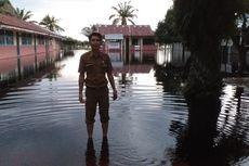 Banjir di Rokan Hulu Belum Surut, Kegiatan Belajar-Mengajar Diliburkan