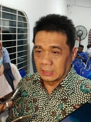 Ketua DPP Partai Gerindra, Ahmad Riza Patria saat menjadi pembicara pada diskusi publik KNPI, Jakarta Pusat, Kamis (25/7/2019).