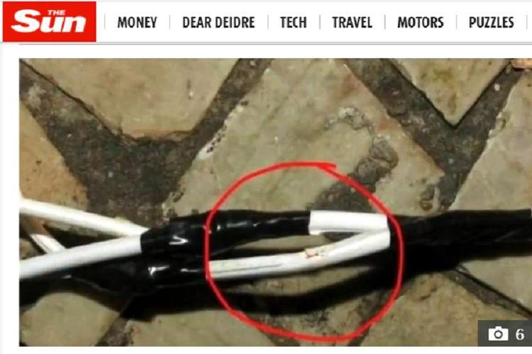 Gadis cilik 8 tahun tewas tersetrum setelah sentuh potongan kabel dekorasi Natal yang rusak.