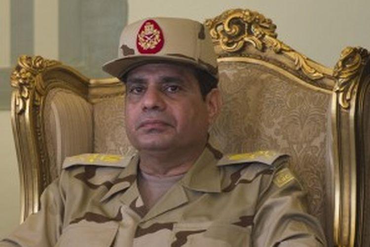 Pemimpin militer Mesir, Jenderal Abdel Fattah al-Sisi.