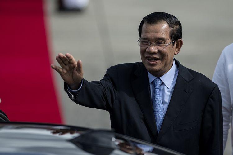 PM Kamboja Hun Sen.