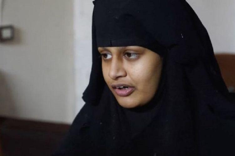 Shamima Begum. Remaja 19 tahun yang kabur dari Inggris dan bergabung dengan ISIS pada 2015.