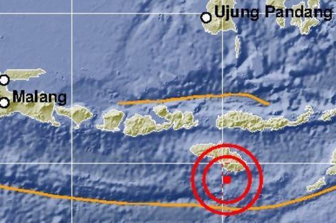 Gempa Kelima Guncang Sumba Timur, Bermagnitudo 5,9