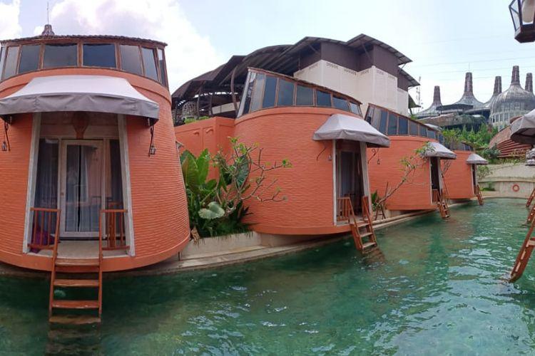 Penginapan Dusun The Villas di Semarang