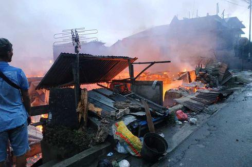 Kebakaran Hanguskan Ratusan Rumah di Ambon, Dua Orang Tewas Terbakar