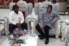 Risma Akan Bantu Renovasi Pembangunan Asrama Papua di Surabaya