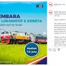 Lomba Desain Livery Lokomotif dan Kereta PT KAI, Hadiah Rp 7,6 Juta!