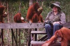 Birute Galdikas Dokter Jerman, 50 Tahun Mengabdi untuk Orangutan, Menikah dengan Pria Dayak