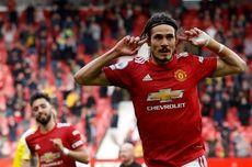 Man United Vs Fulham, Tembakan 36 Meter Cavani Bawa Setan Merah Unggul