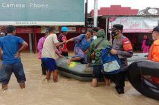 Banjir di Indramayu Meluas Jadi 21 Kecamatan, Sebagian Mengungsi ke Tempat Ibadah hingga Stasiun
