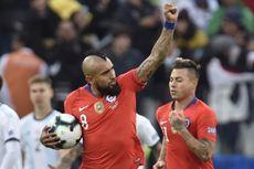 Kualifikasi Piala Dunia 2022 - Golazo Arturo Vidal Bawa Chile Menang