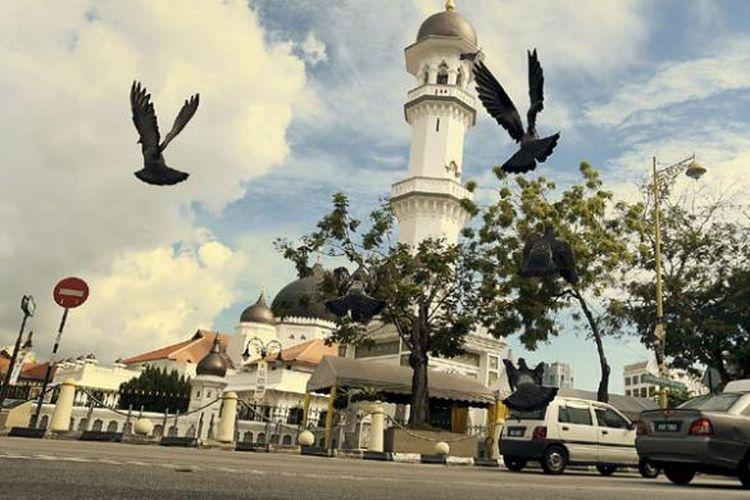 George Town di Penang, Malaysia.