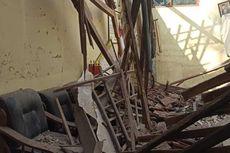 Hujan Deras Guyur Ponorogo, Atap Tiga Ruangan SD Ini Ambruk