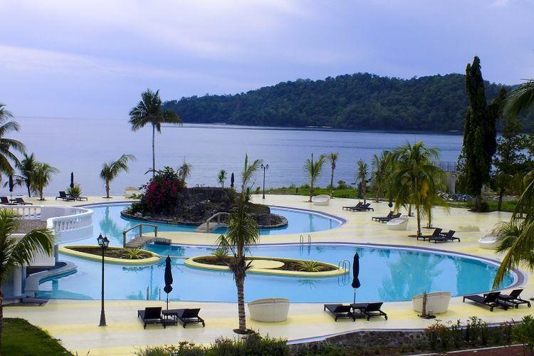 Casabaio Paradise & Resort di Likupang, Minahasa Utara, Sulawesi Utara.