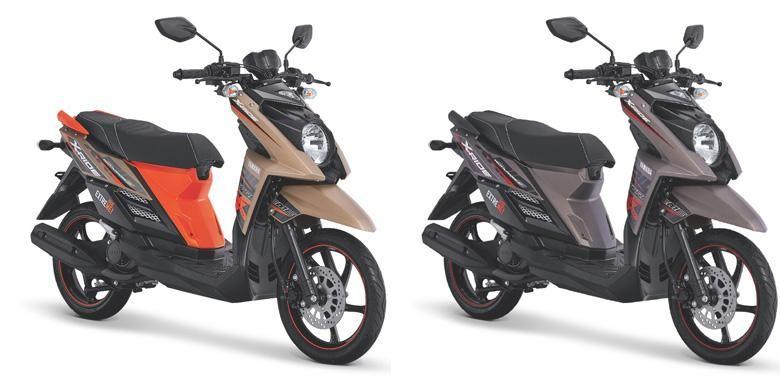 Warna baru Yamaha X-Ride mampu memikat konsumen.