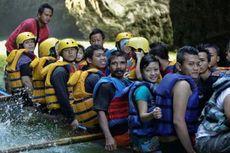 Green Canyon Pun Diserbu Wisatawan
