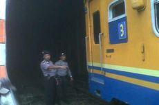 Kereta Api Anjlok di Cianjur, 1 Gerbong Tabrak Terowongan