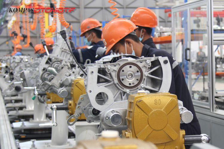 Pabrik Esemka milik PT Solo Manufaktur Kreasi di Boyolali, Jawa Tengah