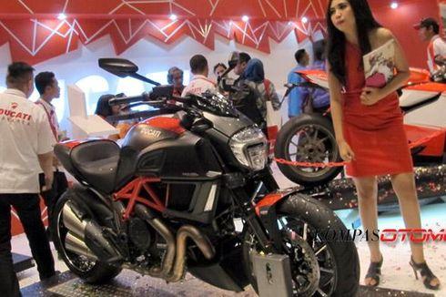 Peluncuran Model Baru dan Diskon hingga Rp 100 Juta di Stan Ducati