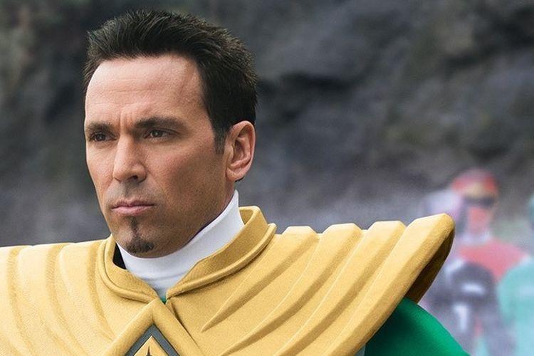 Jason David Frank sebagai Green Ranger dalam Power Rangers Megaforce (2013)