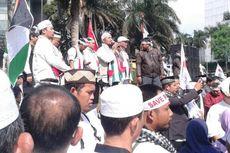 Ada Aksi Solidaritas Palestina di Bundaran HI, Arus Lalu Lintas Tersendat