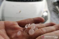 Fenomena Hujan Es di Kota Cimahi, Ini Penyebabnya