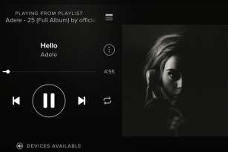 Album Adele di Spotify