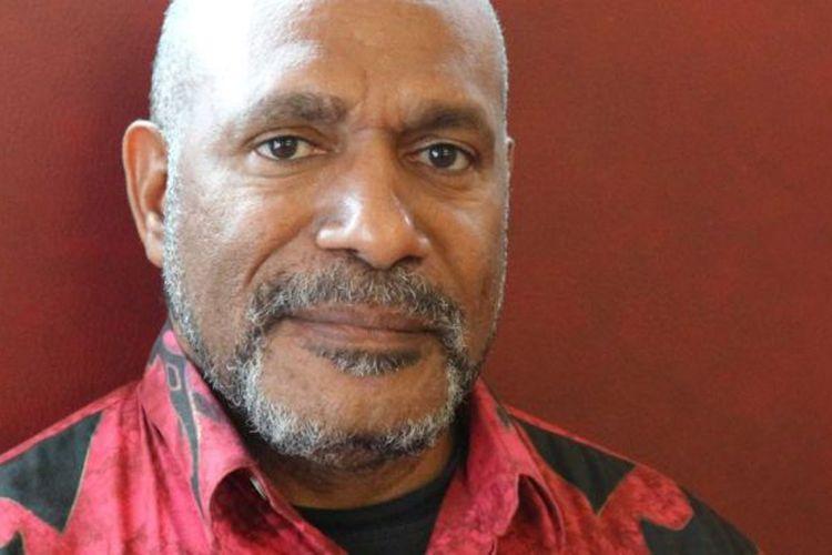 Tokoh separatis Papua, Benny Wenda, yang kini berada di Oxford, Inggris.