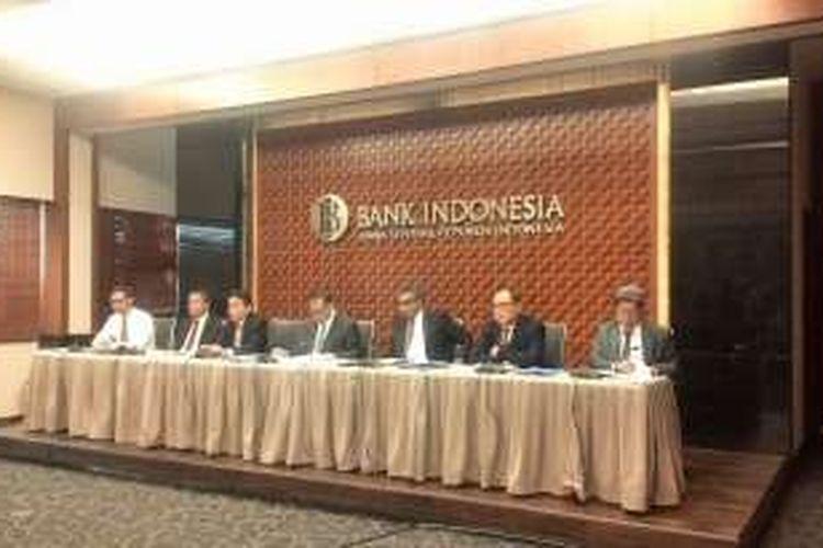 Konferensi Pers Rapat Dewan Gubernur Bank Indonesia