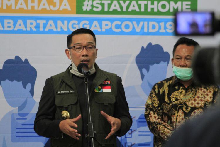 Gubernur Jawa Barat Ridwan Kamil saat ditemui di Gedung Sate beberapa waktu lalu