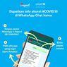 Update Info Corona Indonesia Bisa Diakses di WhatsApp, Ini Infonya!