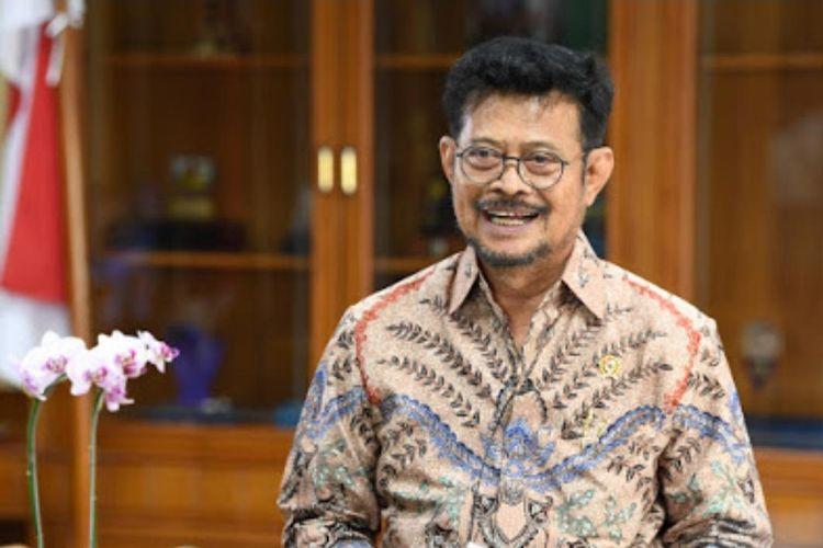 Menteri Pertanian (Mentan) Syahrul Yasin Limpo dalam salah satu kesempatan.