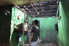 Gara-gara Percikan Tungku Api Pabrik Tahu Sumedang, Sebuah Rumah Terbakar